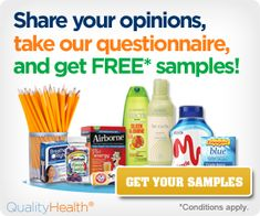 Get Your Free Samples for