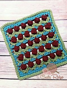 This Pattern coming January 11, 2016! - HodgePodge Crochet Presents the 2016 Afghan Sampler CAL - Jan 2016 Crochet Along