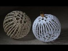 Crochet Christmas Decorations, Crochet Ornaments, Christmas Crochet Patterns, Holiday Crochet, Crochet Snowflakes, Xmas Ornaments, Crochet Gifts, Crochet Stone, Crochet Ball
