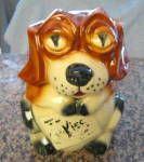 Click to view larger image of McCoy Cookie Jar Vintage Beagle  (Image1)