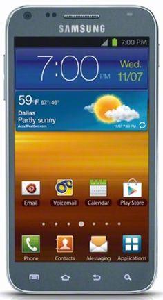 Samsung Galaxy S II 4G Android Phone, Titanium (Sprint)