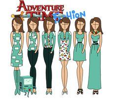 Adventure time fashion: BMO by Willemijn1991 on DeviantArt