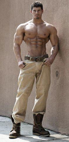 Tall, Dark, and Handsome by builtbytallsteve.deviantart.com on @deviantART