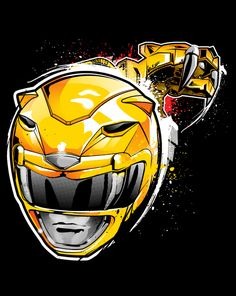 Saber Tooth Tiger! T-Shirt ~ $10 Power Ranger tee at ShirtPunch today only!
