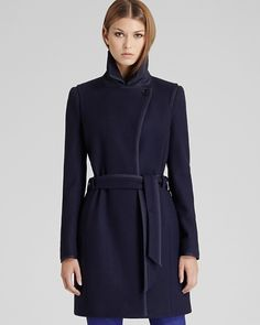 REISS Lavina Textured Fit & Flare