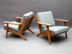 """GE 290"" easy chair by Hans J Wegner  for Getama 1955"