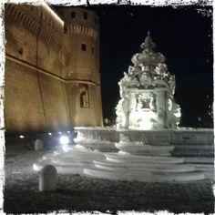 #fontana Masini e #loggette in #piazza del Popolo