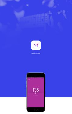 Metronome iOS app on Behance