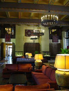 The Ahwahnee Hotel built in 1927, Yosemite Valley