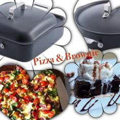 Stove top pizza and Brownies - Hostess love these two dishes cooked at their Cooking Parties. Book yours today