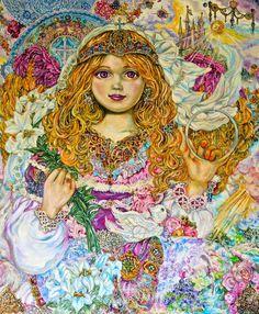 Archangel Gabriel by Yumi Sugai - Cross Stitch Pattern