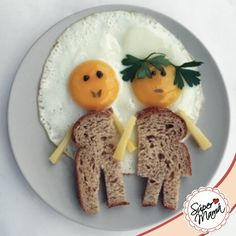 "serve a ""couple"" of eggs to your honey for Valentine's breakfast. Who comes up with this stuff Cute Food, Good Food, Yummy Food, Baby Food Recipes, Healthy Recipes, Healthy Food, Party Recipes, Healthy Cooking, Healthy Meals"