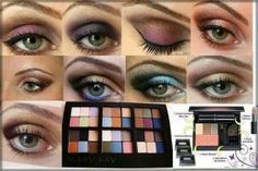 The WOW Factor!! Eye Color from MARY KAY!! Create your own compact.