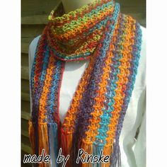 Made by Rinske: Summerscarf / Zomersjaal