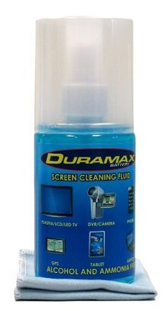 Duramax Premium Screen Cleaner for LCD/LED/TABLETS Alcohol and Ammonia Free by Duramax. $7.99. Duramax, Screen Cleaner provides a Safe & Clean surface for superior streak-free reflection and vivid picture From Your TVs and Video Equipment   When your cleaning TVs, iPad, Camcorders, Camera Screens & Lens surfaces, iPhones, Smartphone's, Computers Screens, high definition monitors, 3D Glasses, and other video displays, you may actually be damaging your equipment and h...
