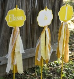 cute lawn signs for a special day