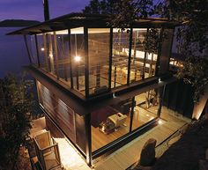 Architect: Robert Brown | James Robertson house, Mackeral Beach, Australia, 2003