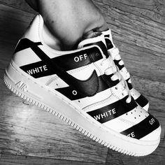 Off White X AF1's Low