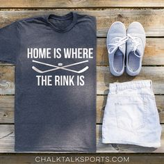 Whether you're a hockey mom or a hockey player, home is where the rink is!