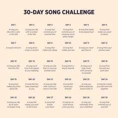 30 days song challenge on We Heart It Imagine article, challenge, and music<br> So, I saw this pretty cool challenge about choosing a song per day and I decided to do it just for fun. I challenge you to do it! A song you li. 30 Day Music Challenge, Art Challenge, 30 Day Instagram Challenge, Journal Challenge, 30 Day Challange, Thigh Challenge, Plank Challenge, Monthly Challenge, Challenge Accepted