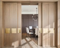 Decorating: Nice Bypass Sliding Barn Door Hardware For . 10 Space Saving Sliding Doors For Your Small Space Home . Home and Family Panel Doors, Windows And Doors, Oak Doors, Barn Door Hardware, Sliding Doors, Interior Inspiration, Interior Architecture, House Design, Modern