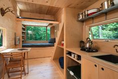 Tiny House from The Millenial Lab at Harvard - http://www.tinyhouseliving.com/tiny-house-from-the-millenial-lab-at-harvard/