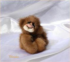 The House of Mink Teddy Bear