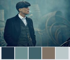 Peaky Blinders Color Palette #2