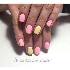 Beautiful summer nails, Bright colorful nails, Bright moon nails, Manicure by summer dress, Matte nails, Original nails, ring finger nails, Spectacular nails