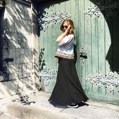 """👉Up on the blog: ein neues Outfit! Ich liebe es bei """"Vielleicht warm…"""