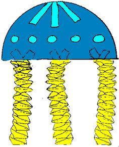inktvis (of een kwal)