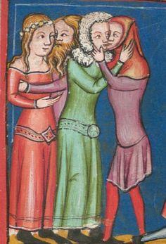 Rudolf / Jansen Enikel, Jans: Weltchronik in Versen - Mischhandschrift aus Christ-herre-Chronik um 1370 Cgm 5 Folio 117v