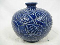 Rare 60´s Adele Bolz design Keramik pottery vase DRP 200 in Antiquitäten & Kunst, Design & Stil, 1960-1969 | eBay