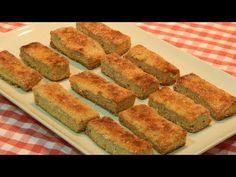 Galletas integrales con semillas y queso receta fácil - YouTube