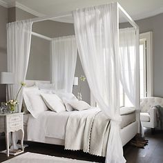 Adeline Bed Linen Collection - White | The White Company