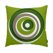 Eccentric Cotton Throw Pillow