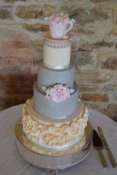 Wedding Cake By Wendy Schlagwein