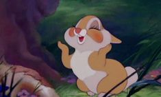 my gifs mine disney flowers animation disney gif bambi bunny rabbit disney gifs disney classics Classic Disney thumper Disney Animation, Disney Pixar, Gif Disney, Disney Love, Walt Disney, Disney Art, Disney Magic, Gif Animé, Animated Gif