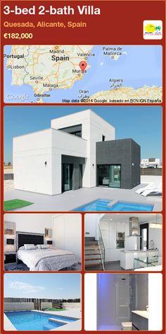 3-bed 2-bath Villa for Sale in Quesada, Alicante, Spain ►€182,000