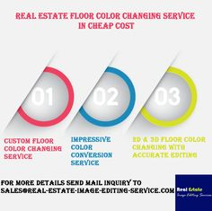 Real Estate Floor Color Changing Service in Cheap Cost Infographic Us Real Estate, Floor Colors, Design Services, Image Editing, Plan Design, Service Design, Color Change, Infographic, Floor Plans