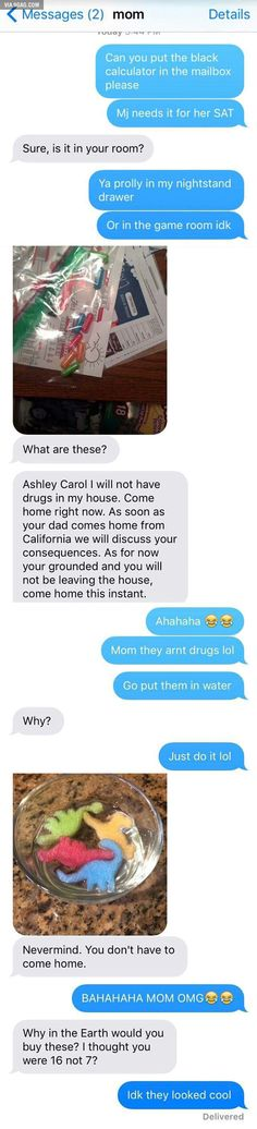LOL: Mom Thinks She Found Daughter's Drugs