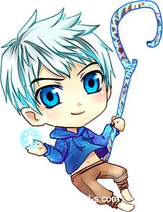 Little Rise of the Guardians: Jack Frost by Eternal-S.deviantart.com on @deviantART