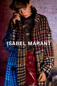 5 best ads of Fall 2016 season: Isabel Marant's campaign starring Edie Campbell.