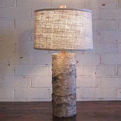Birch Bark Lamp by Stanton Home Furnishings