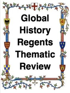 100 Best Global History Regents Review images in 2018 | Teaching