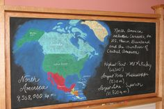 map of North America - showing countries & some stats, but no physical features 5th Grade Geography, Us Geography, Teaching Geography, North America Geography, North America Map, Waldorf Curriculum, Waldorf Education, Us History, Local History