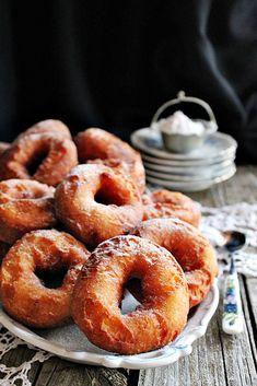 BLOGKONYHA: ~ SZOVÁTAI TÚRÓFÁNK ~ Onion Rings, Doughnut, Latte, Muffin, Bread, Ethnic Recipes, Food, Kitchen, Home