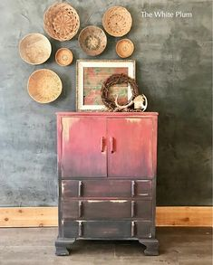 """What is there to say? Its just a fun piece! This petite chest would add an adorable boho touch to your daughter's bedroom or a rustic bohemian vibe to your home office, whatever your heart desires! Measures approximately: 43.5"""" tall 30"""" wide 17"""" deep Please note that this is antique"""