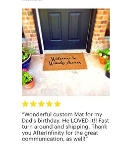 Reviews with pictures are extra special! ❤️Thank you so much for the feedback! P.S. How cool is this custom mat?!✌🏼️ Insta Followers, Custom Mats, Thank You So Much, Dad Birthday, Instagram Posts, Pictures, Etsy, Custom Rugs, Photos