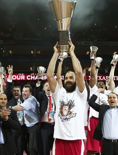 Spanoulis becomes the second player in competition history to become Final Four MVP in the same season he was named Euroleague MVP. Final Four, Competition, Two By Two, Interview, Concert, Fitness, Sports, Athletes, Trust